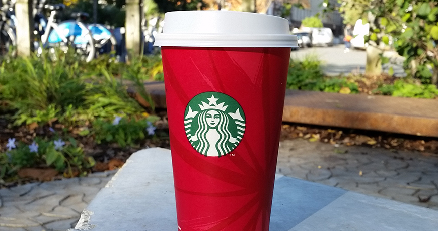 Starbucks Christmas Cups 2019.When Do The Starbucks Red Cups Return For 2019