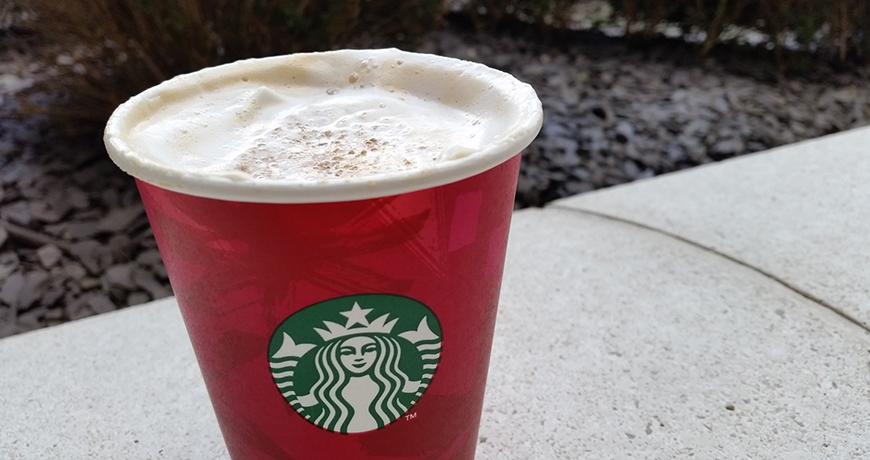 Eggnog Latte Starbucks Christmas Drinks Countdown To Red