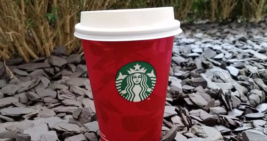 Peppermint Mocha in a Red Cup