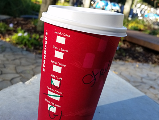 Starbucks Christmas Cups 2019.Starbucks Christmas Drinks Menu Countdown To Red Cups 2019