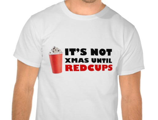 It's Not Xmas Until Red Cups T-Shirt